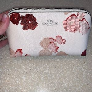 Coach Half Tone cosmetic bag